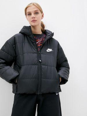 Утепленная куртка - черная Nike
