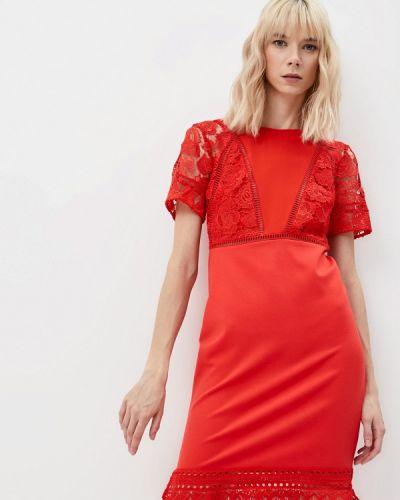 Вечернее платье - красное French Connection
