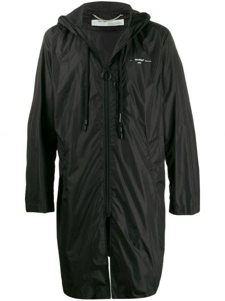 Płaszcz przeciwdeszczowy czarny Off-white