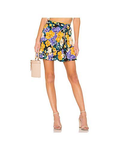 Юбка мини с запахом юбка-шорты Tularosa