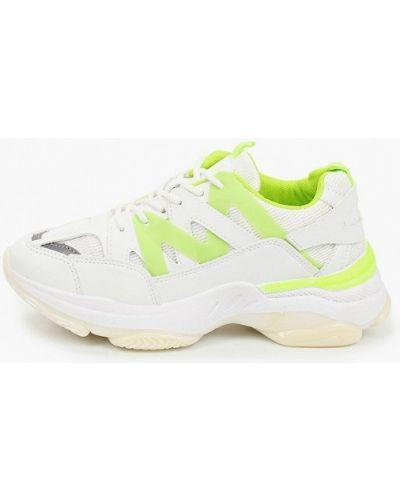 Кожаные белые кроссовки Haily's