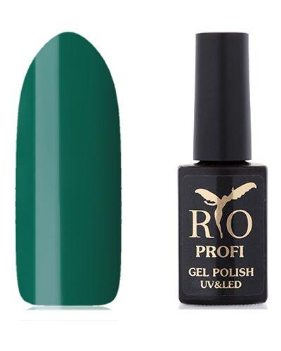 Зеленый гель-лак для ногтей Rio Profi
