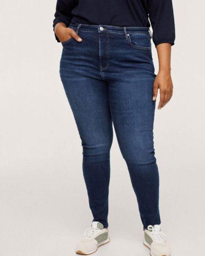 Синие джинсы осенние Violeta By Mango