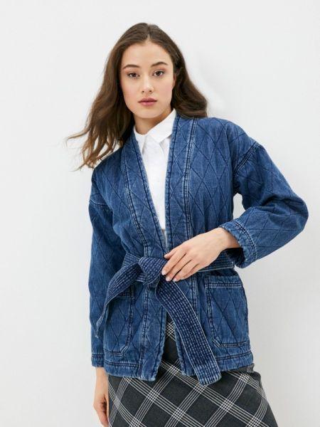 Джинсовая куртка весенняя синий Marks & Spencer