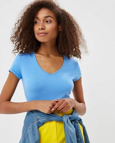Синяя футболка твое
