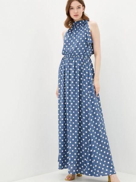 Синее платье Solou