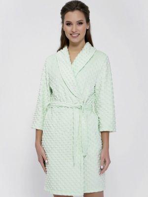 Домашний халат - зеленый Cleo
