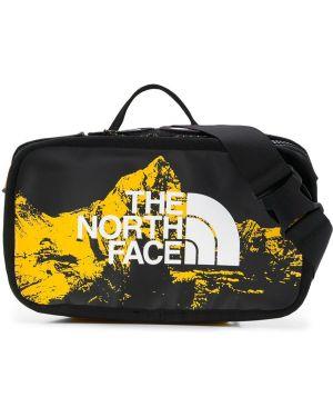 Поясная сумка на молнии с нашивками The North Face