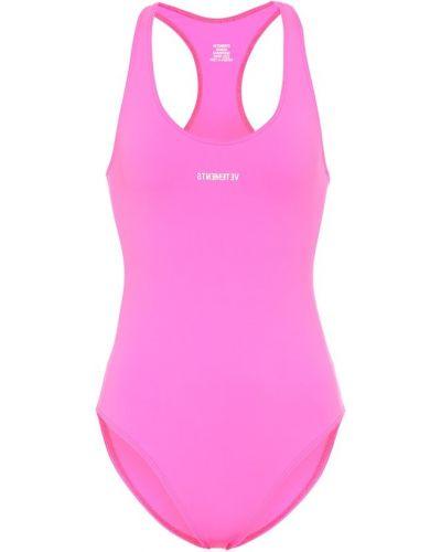 Купальник для бассейна розовый Vetements