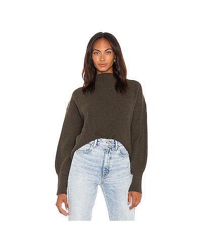 Шерстяной оливковый свитер Alc