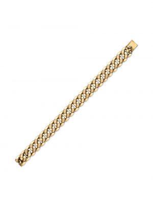 Золотистый золотой браслет золотой Cartier