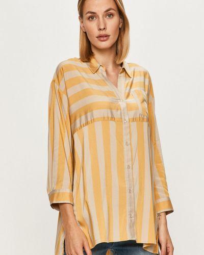 Ciepła klasyczna koszula z wiskozy Only