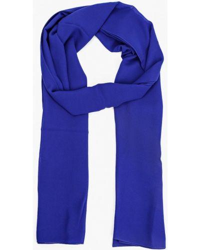 Синяя зимняя шаль Malhossa