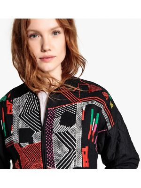 Куртка с рисунком с вышивкой La Redoute Collections