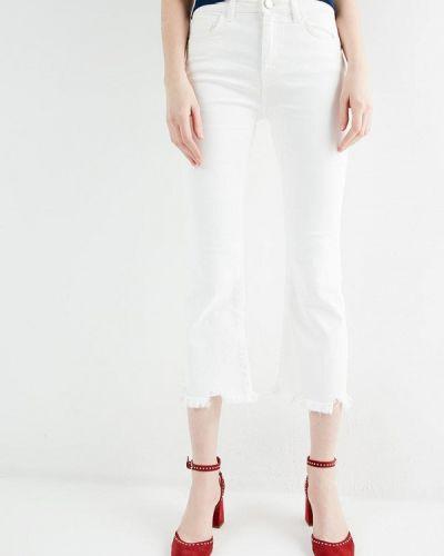 Расклешенные джинсы укороченные свободные широкие Pinko