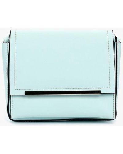 Кожаная сумка - голубая Gianni Conti