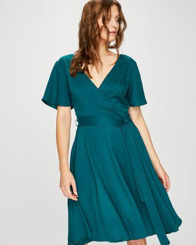Платье мини с запахом однотонное Medicine
