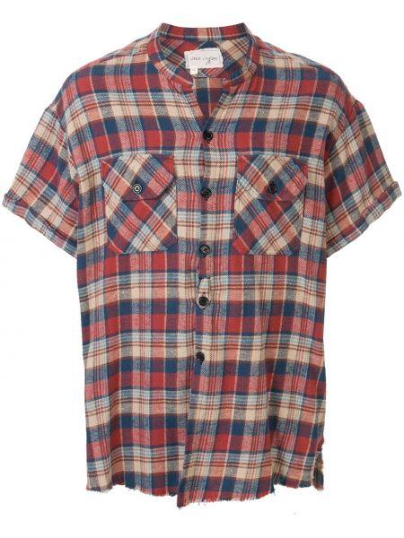 Koszula krótkie z krótkim rękawem z kołnierzem kowboj Greg Lauren