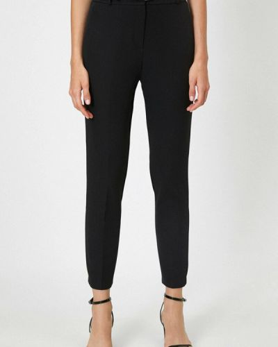 Повседневные черные брюки Koton