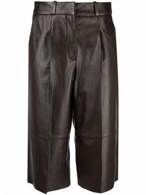 Черные шорты с накладными карманами Arma