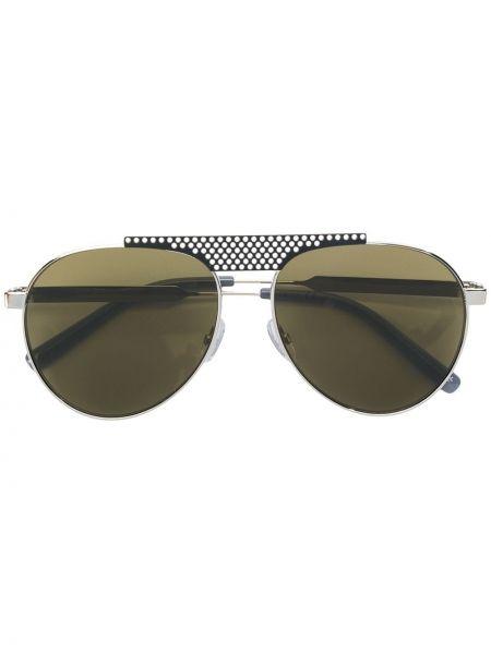 Черные солнцезащитные очки металлические с завязками Oxydo