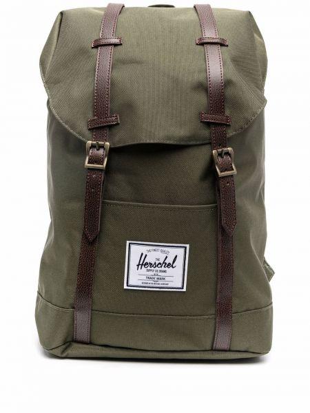 Plecak skórzany - zielony Herschel Supply Co.