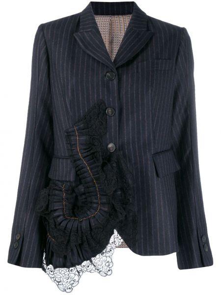 Пиджак с заплатками в полоску Antonio Marras