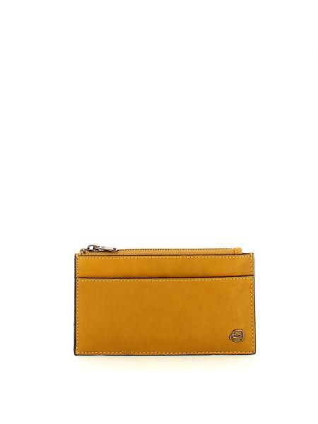 Pomarańczowy portfel Piquadro