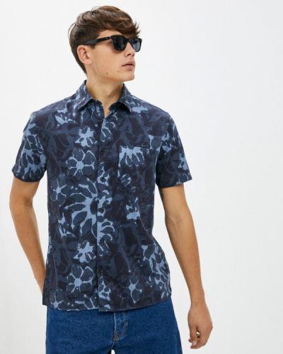 Рубашка с коротким рукавом - синяя Ted Baker London