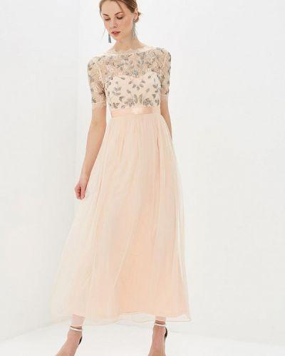 Вечернее платье коралловый индийский Frock And Frill