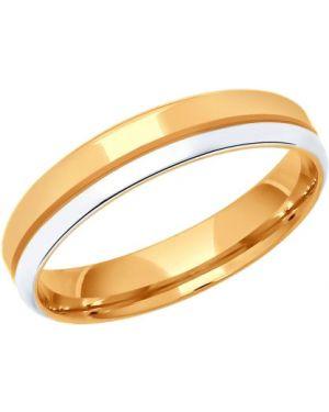 Кольцо позолоченное - желтое Sokolov