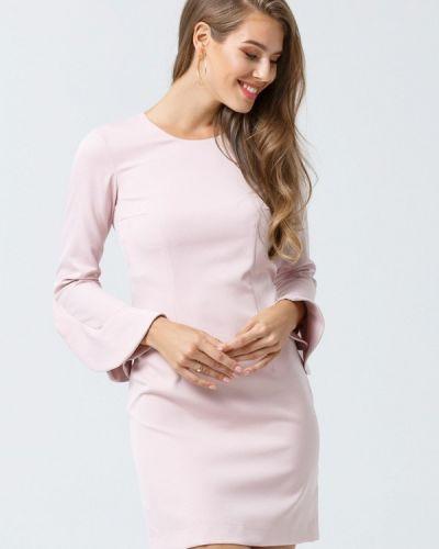 Розовое вечернее платье Evercode