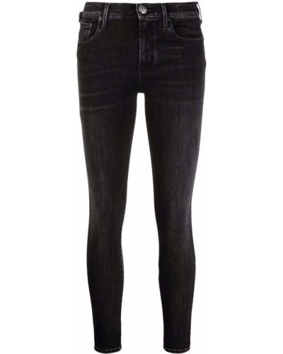 Облегающие черные джинсы-скинни на молнии Jacob Cohen