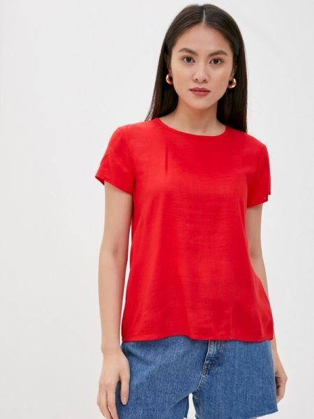 Красная блузка с коротким рукавом Rock Angel