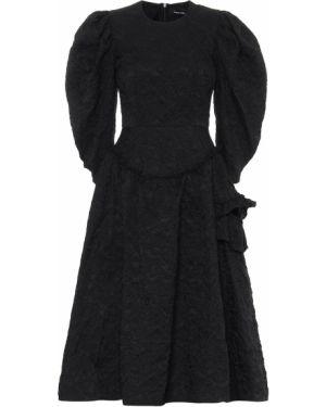 Платье с цветочным принтом модерн Simone Rocha