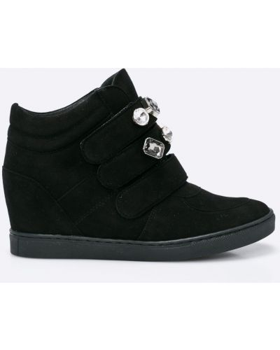 Черные кроссовки Gino Rossi