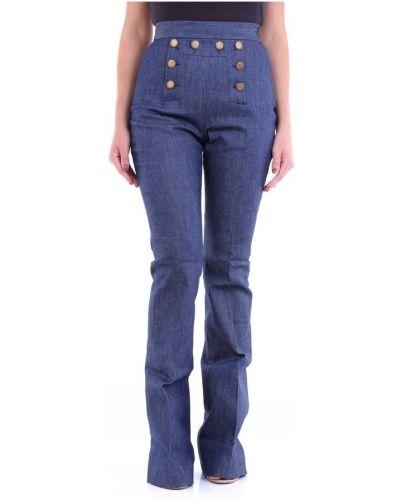 Niebieskie jeansy Messagerie