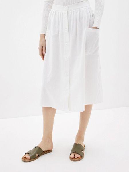 Юбка широкая белая Baon