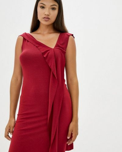 Прямое красное платье Прованс