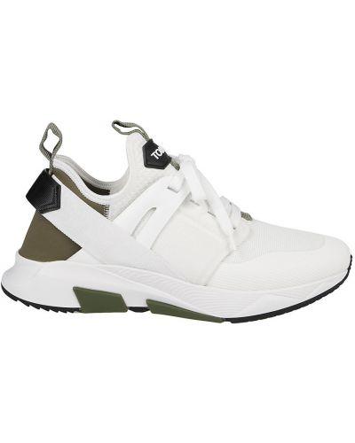 Białe sneakersy Tom Ford