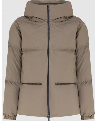 Пуховая куртка - бежевая Herno