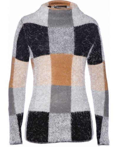 Черный свитер из верблюжьей шерсти Bonprix