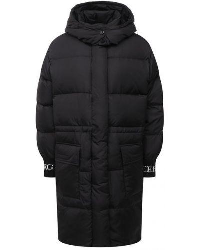 Пуховая куртка с подкладкой с перьями Iceberg