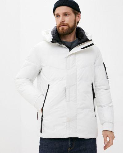Утепленная белая куртка Qwentiny