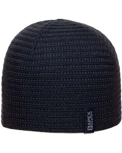 Флисовая шапка - синяя Apex