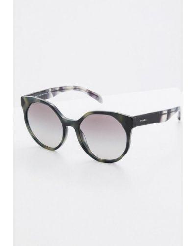Солнцезащитные очки 2019 круглые Prada