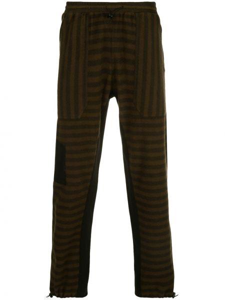 Брючные черные спортивные брюки с заплатками с карманами Phipps
