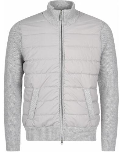Шерстяная куртка - серая Barba Napoli