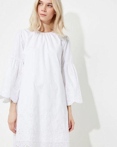Белое платье с длинными рукавами Michael Michael Kors