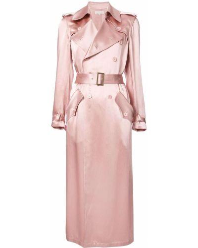 Розовое пальто классическое Fleur Du Mal